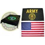 Army Mink Fleece Gift Set