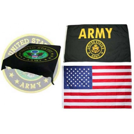 Army Mink Fleece Gift Set