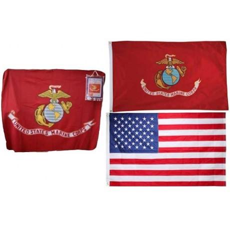 Marines Polar Fleece Gift Set