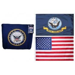 Navy Polar Fleece Gift Set