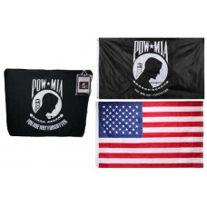 POW MIA Polar Fleece Gift Set