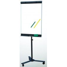 "24""x 36"" Pedestal Roll Around Magnetic Dry Erase"