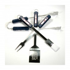 Detroit Tigers 4 Piece BBQ Set