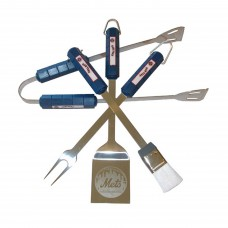 New York Mets 4 Piece BBQ Set