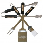 San Francisco Giants 4 Piece BBQ Set