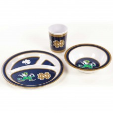 Notre Dame Fighting Irish 3 Piece Kid's Dish Set