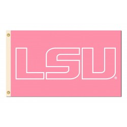 Louisiana State Tigers Pink 3'x 5' Flag