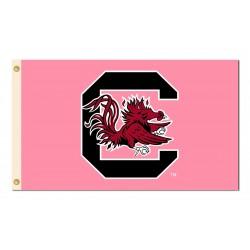 South Carolina Gamecocks Pink 3'x 5' Flag