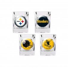 Pittsburgh Steelers 4 pc Shot Glass Set