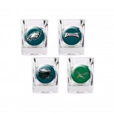 Philadelphia Eagles 4 pc Shot Glass Set