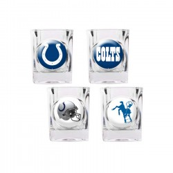 Indianapolis Colts 4 pc Shot Glass Set