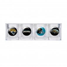 Jacksonville Jaguars 4 pc Shot Glass Set