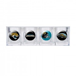 Jacksonville Jaguars 4 pc Shot Glass Set