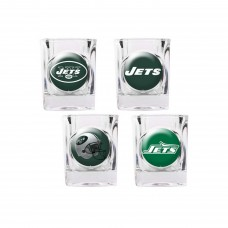 New York Jets 4 pc Shot Glass Set