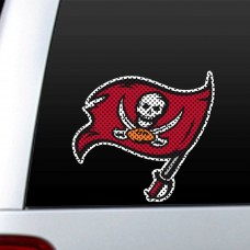 Tampa Bay Bucaneers 12-inch Die Cut Window Film