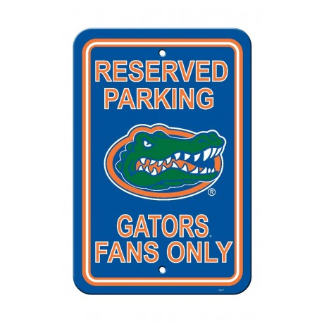 Florida Gators 12-inch by 18-inch Parking Sign