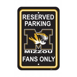 Missouri Tigers 12-inch by 18-inch Parking Sign