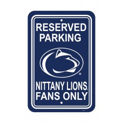 Penn State Nittany Lions 12-inch by 18-inch Parking Sign
