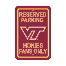Virginia Tech Hokies 12-inch by 18-inch Parking Sign