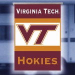 Virginia Tech Hokies NCAA RV Awning Banner