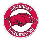 Arkansas Razorbacks 12-inch Vinyl Magnet