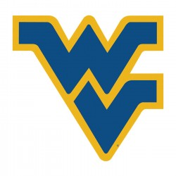 West Virginia Mountaineers 12-inch Vinyl Magnet