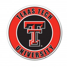 Texas Tech Red Raiders 12-inch Vinyl Magnet