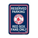 Boston Red Sox Parking Sign