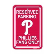 Philadelphia Phillies Parking Sign 12