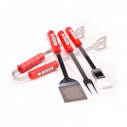 North Carolina State Wolfpack 4 Piece BBQ Set