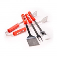 Louisville Cardinals 4 Piece BBQ Set