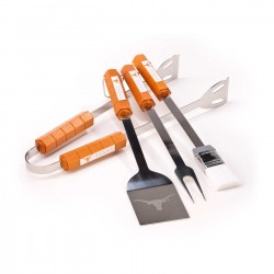 Texas Longhorns 4 Piece BBQ Set