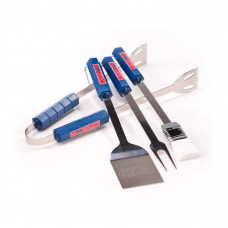 Mississippi Rebels 4 Piece BBQ Set