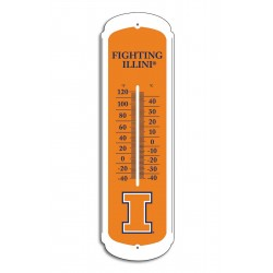 Illinois Fighting Illini 12-inch Thermometer
