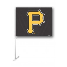 Pittsburgh Pirates Two Sided Car Flag