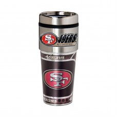 San Francisco 49ers Travel Mug 16oz Tumbler with Logo