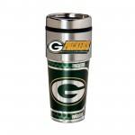 Green Bay Packers Travel Mug 16oz Tumbler with Logo