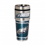 Philadelphia Eagles Travel Mug 16oz Tumbler with Logo