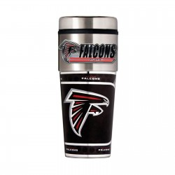 Atlanta Falcons Travel Mug 16oz Tumbler with Logo