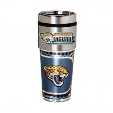 Jacksonville Jaguars Travel Mug 16oz Tumbler with Logo