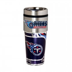 Tennessee Titans Travel Mug 16oz Tumbler with Logo