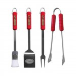 San Francisco 49ers 4 Piece BBQ Set
