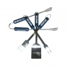 New England Patriots 4 Piece BBQ Set