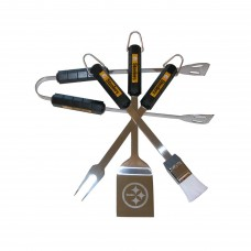 Pittsburgh Steelers 4 Piece BBQ Set