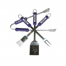 Minnesota Vikings 4 Piece BBQ Set