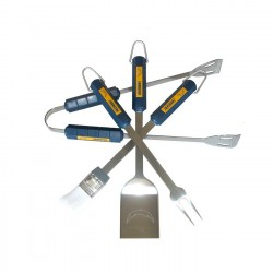 San Diego Chargers 4 Piece BBQ Set