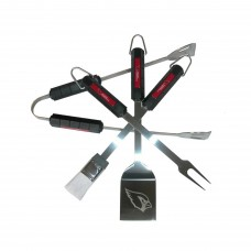 Arizona Cardinals 4 Piece BBQ Set