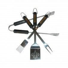 New Orleans Saints 4 Piece BBQ Set