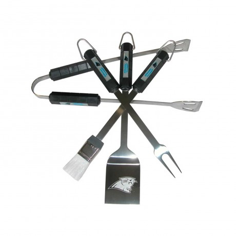 Carolina Panthers 4 Piece BBQ Set