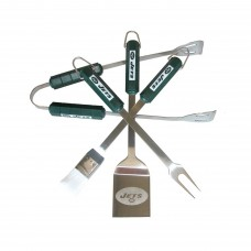 New York Jets 4 Piece BBQ Set